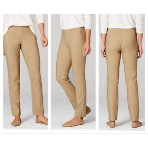 J. Jill Essential Cotton Stretch Pant in Sesame 6
